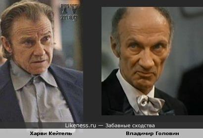 Харви Кейтель и Владимир Головин чем-то похожи в криминальных ролях