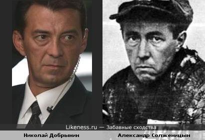 Николай Добрынин напомнил Александра Солженицына