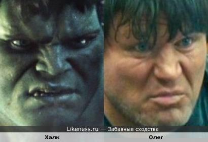 Халк напомнил Олега Тактарова