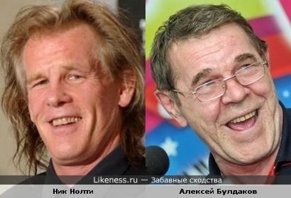 Ник Нолти напомнил Алексея Булдакова