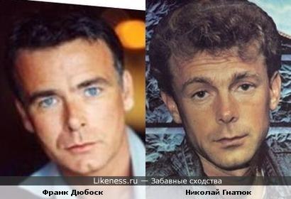 Франк Дюбоск напомнил Николая Гнатюка