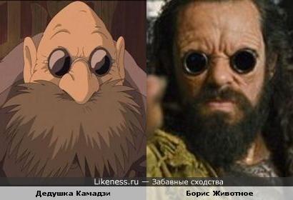 """Дедушка """"Камазист"""" и Борис байкер"""