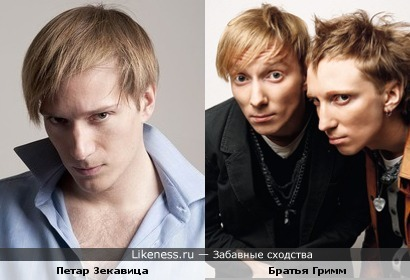 Петар Зекавица и Братья Гримм