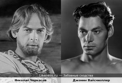 Александр Невский и Тарзан