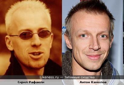 Сирил Рафаели - Антон Камолов