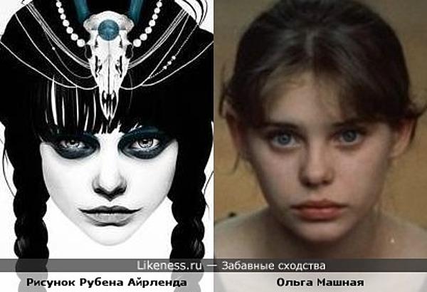 """Ольга """"в состоянии задумчивости"""""""