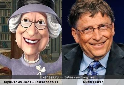Мультличность и Билл Гейтс