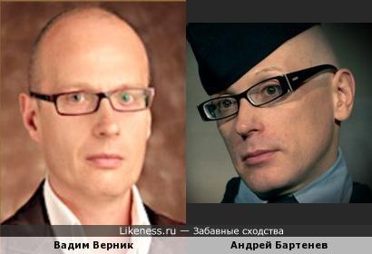 А считается что близнец Вадима Игорь.