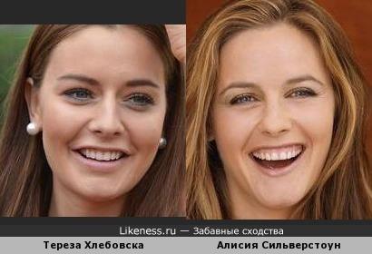 Чешская Мисс 2012 — Тереза Хлебовска и Алисия Сильверстоун