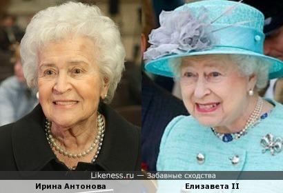 Президент Государственного музея изобразительных искусств им. А. С. Пушкина и королева Британии