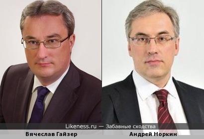 Вячеслав Гайзер напомнил Норкина