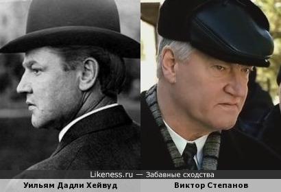 Североамериканский радикальный профсоюзный лидер и актер Виктор Степанов