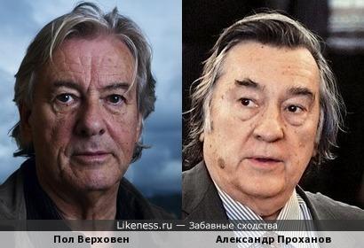 Пол Верховен напомнил Александра Проханова