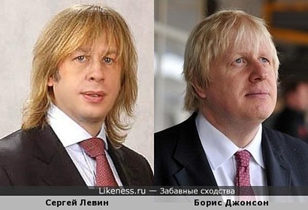 Пластический хирург Сергей Левин напомнил мэра Лондона Бориса Джонсона