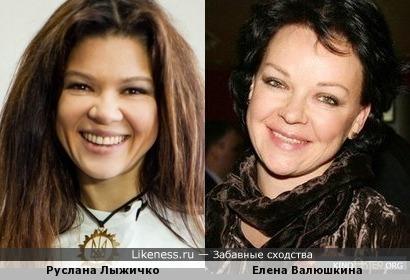 Руслана напомнила Елену Валюшкину