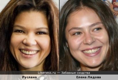 Руслана напомнила Елену Лядову