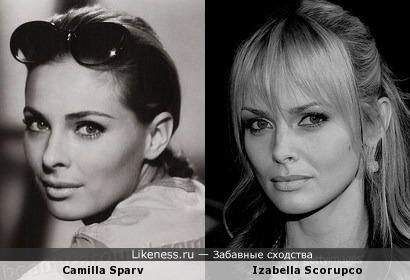 Шведки Камилла и Изабелла