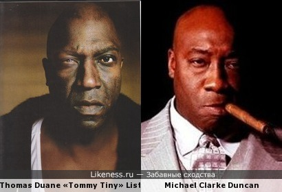 Tommy 'Tiny' Lister VS Michael Clarke Duncan
