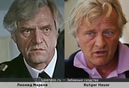 Леонид Марков ≈ Rutger Hauer (авторепост)