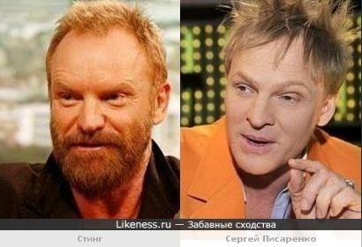 """Сергей Писаренко: """"А я хоть вот стооолечко похож на Стинга?"""