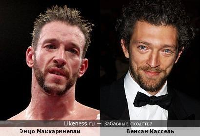 Энцо Маккаринелли Венсан Кассель