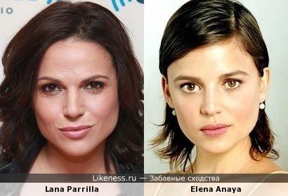 Lana Parrilla / Elena Anaya