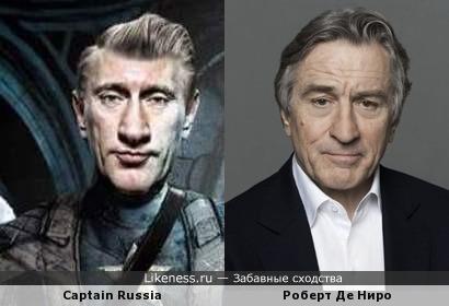 Шарж на Путина получился портетом Роберта Де Ниро!