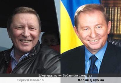 Сергей Иванов напомнил Кучму