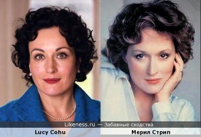 Lucy Cohu / Мерил Стрип