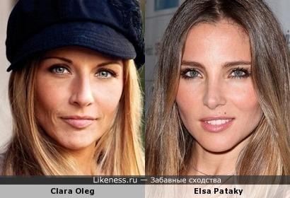 Clara Oleg / Elsa Pataky