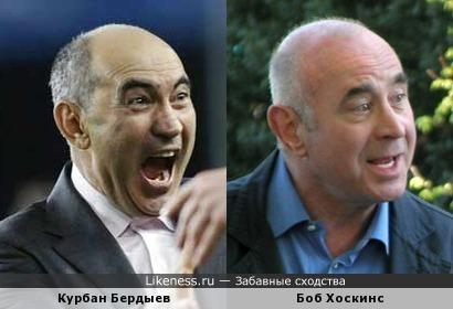 Курбан Бердыев напомнил Боба Хоскинса