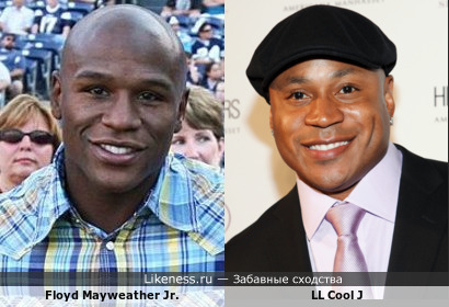 Floyd Mayweather Jr. VS LL Cool J