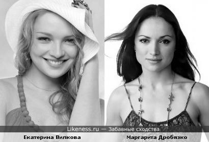 Екатерина Вилкова vs Маргарита Дробязко