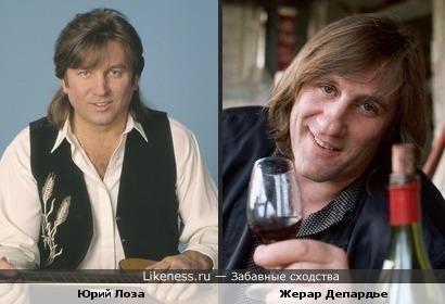 Юрий Лоза похож на Жерара Депардье