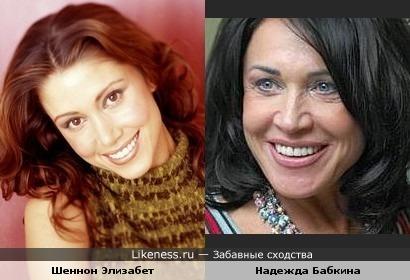 Шеннон Элизабет в старости будет похожа на Бабкину