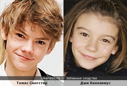 Похожие как брат и сестра но разные дети актеры