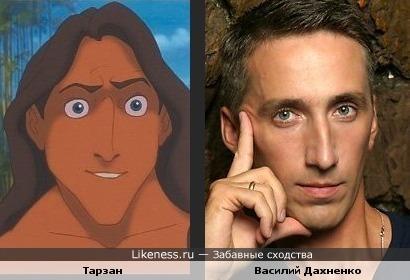 Тарзан похож на свой русский голос