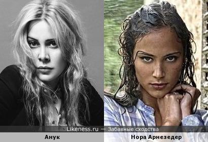 Новая Анжелика необыкновенно похожа на голландскую певицу Анук
