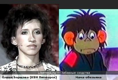 Елена Борщова редко улыбается