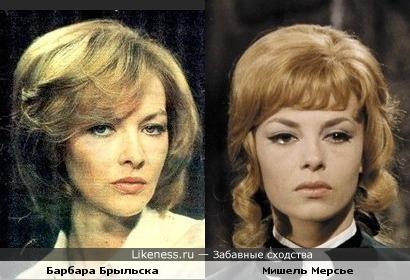 Барбара Брыльска здесь похожа на Мишель Мерсье в роли Анжелики