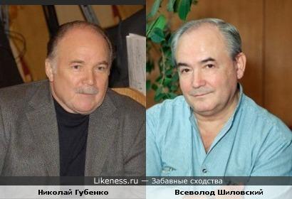 Николай Губенко похож на Всеволода Шиловского
