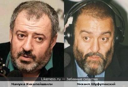 Мамука Кикалейшвили похож на Михаила Шуфутинского