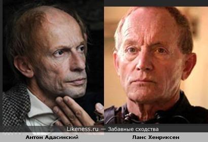 Антон Адасинский на этом фото похож на Ланса Хенриксена.