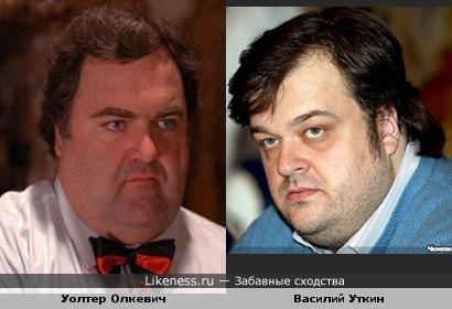 Василий Уткин и Уолтер Олкевич