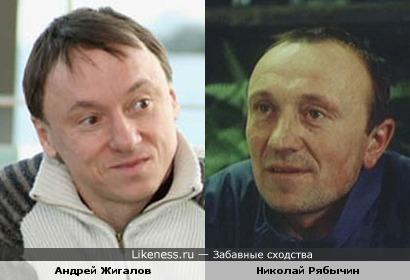 Андрей Жигалов и Николай Рябычин похожи.