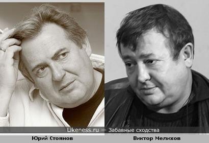 Виктор Мелихов похож на Юрия Стоянова