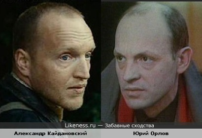 Юрий Орлов и Александр Кайдановский