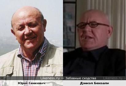 Дэниэл Бензали на этом фото похож на Юрия Сенкевича