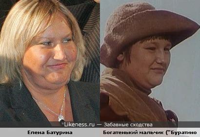 "Батурина снималась в ""Приключениях Буратино""?!"