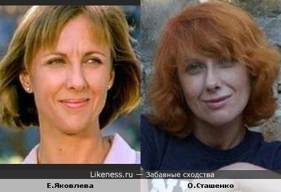 Сташенко и Яковлева